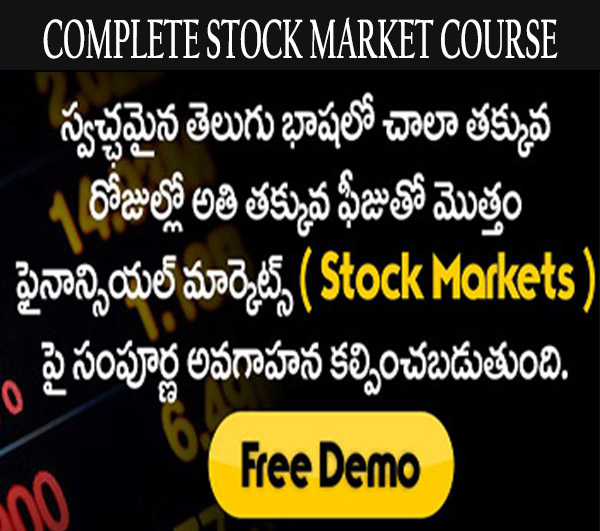 Online stock market courses in hyderabad